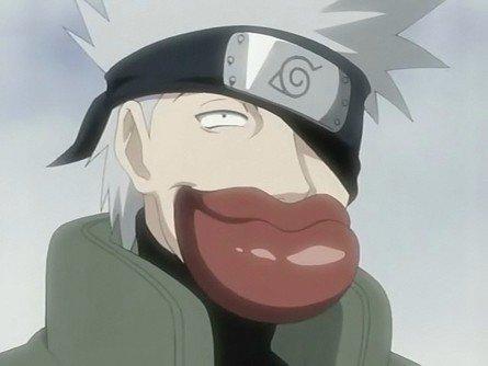 Hatake Kakashi Sexy Lips
