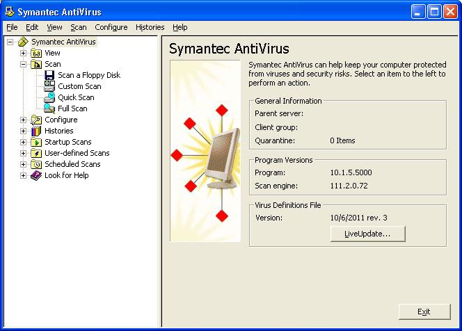 Symantec AntiVirus - SilumanSupra