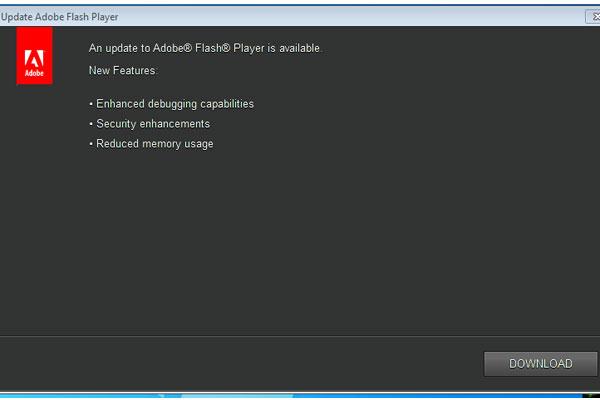 Update Flashplayer - Lumansupra