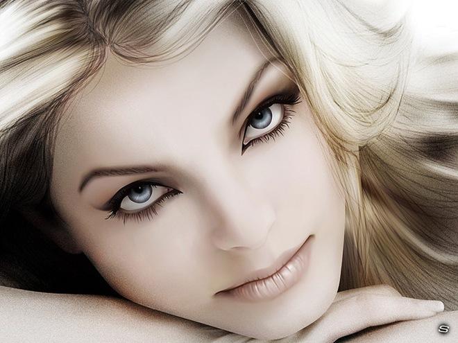 Beautiful Women Face