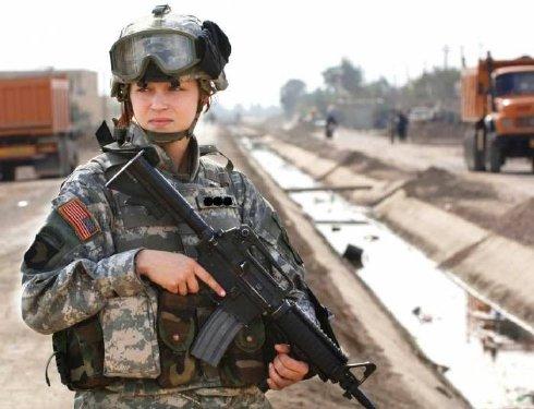 Beautiful Military Women