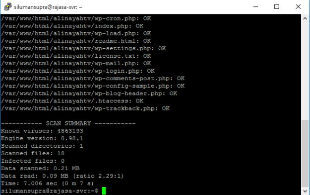 Clamav Ubuntu 14.04